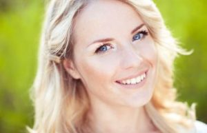 Woman Smiling After Dental Veneers Napa CA